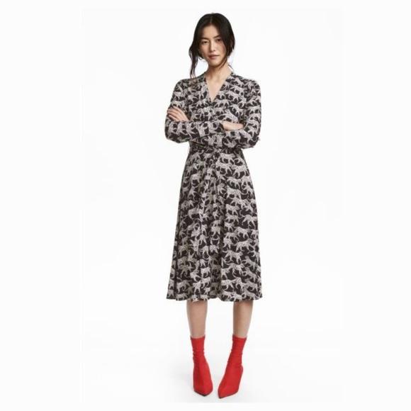 ee34fe6013f0 H&M Dresses | Hm Leopard Print Dress | Poshmark